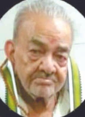 स्वतंत्रता सेनानी वैद्य सोमदत्त शर्मा का निधन