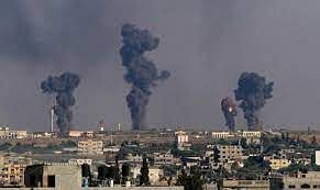 इजराइल ने हमास को लक्ष्य कर गाजा पर फिर से किया हमला