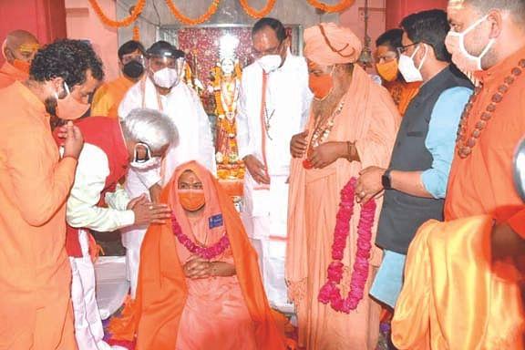 स्वामी रामेश्वरानन्द को सौंपी रामभजन आश्रम की जिम्मेदारी