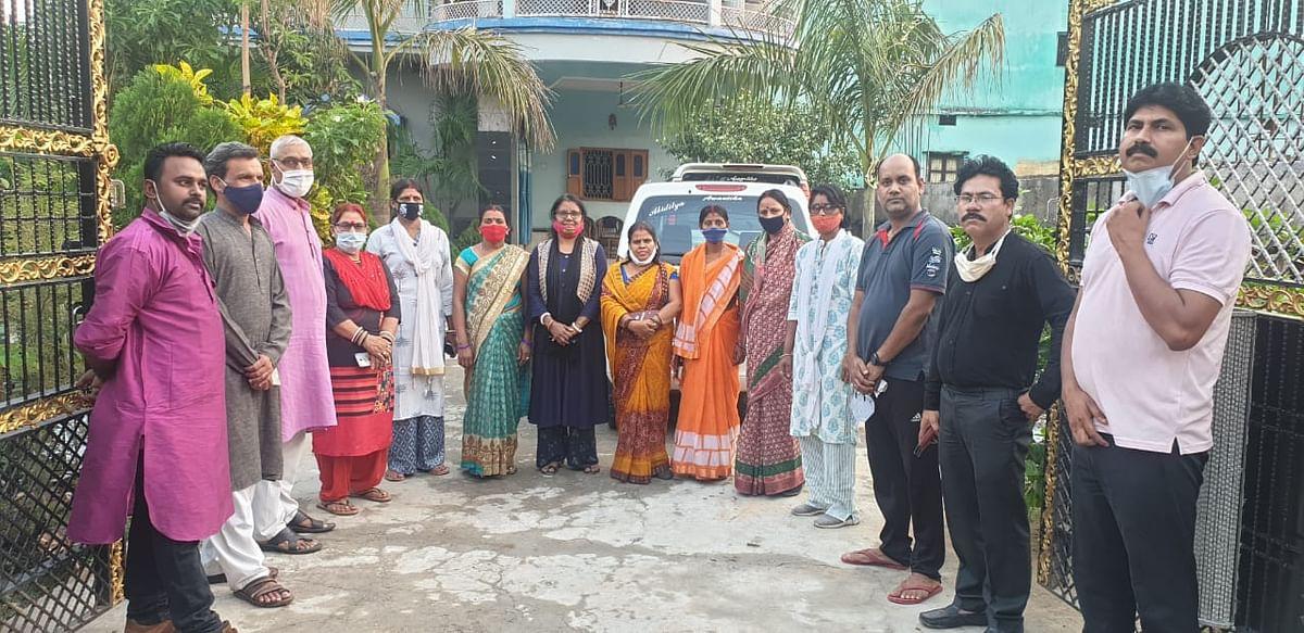 बगावत पर उतरी भाजपा महिला मोर्चा, उपाध्यक्ष की पहल पर वापस लिया इस्तीफा