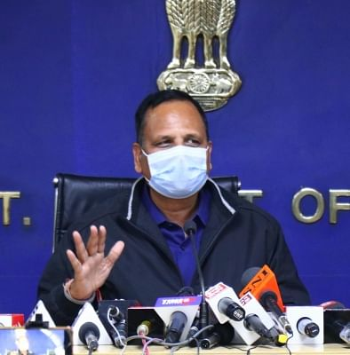 दिल्ली में एक दर्जन से अधिक अस्पताल कर रहे ब्लैक फंगस का इलाज : सत्येंद्र जैन
