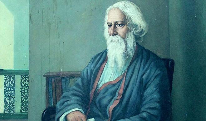 रवींद्रनाथ की रचनाओं में मानव और ईश्वर के बीच का संपर्क कई रूपों में उभरता है