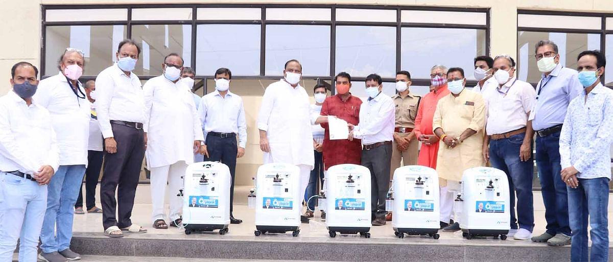 काश्यप फाउंडेशन के सहयोग से मेडीकल कालेज में 60 बेड का नया वार्ड शुरू