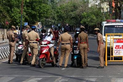 तमिलनाडु में लॉकडाउन, अंतरराज्यीय सीमाओं पर कड़े प्रतिबंध