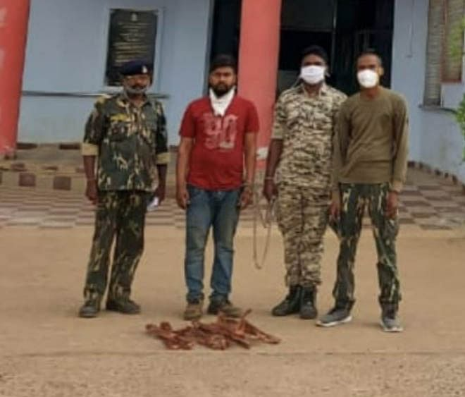 jagdalpur-one-accused-of-copper-wire-theft-arrested