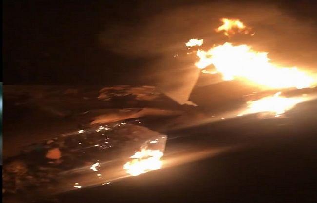 पंजाबः मोगा में मिग 21 दुर्घटनाग्रस्त, पायलट की मौत की खबर