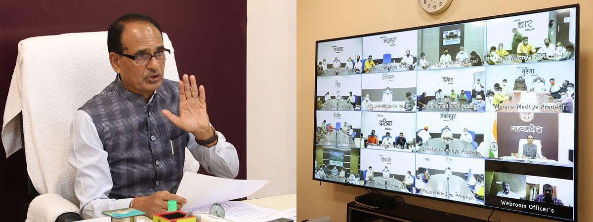 (एक)-नगरीय निकाय प्रतिनिधियों के सहयोग से ही कोविड प्रबंधन संभव : शिवराज