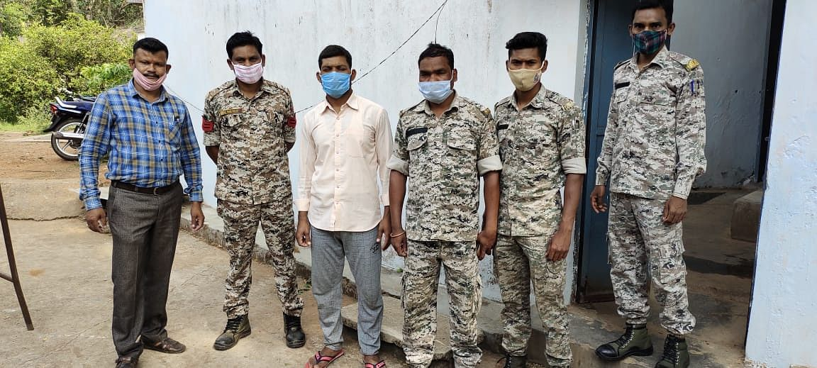 kondagaon---accused-of-stealing-motor-cycle-arrested