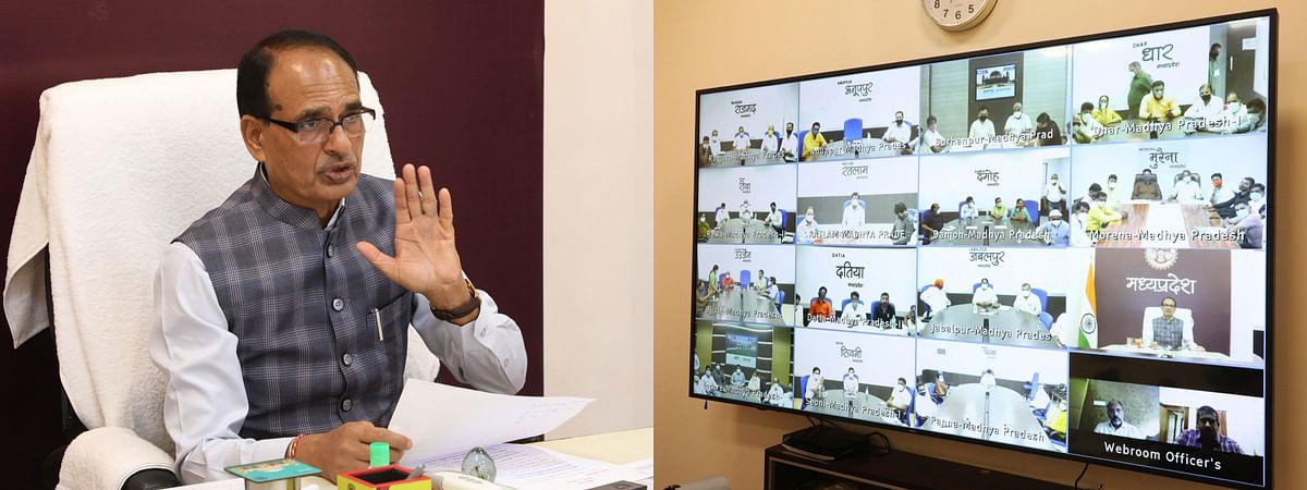 (दो)-मुख्यमंत्री शिवराज ने किया नगरीय क्षेत्रों के प्रतिनिधियों से सीधा संवाद