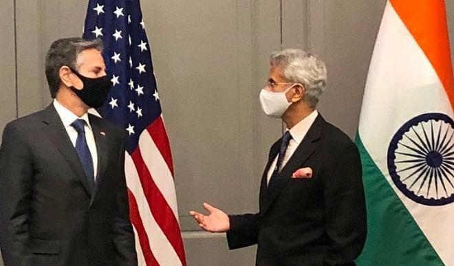 जयशंकर ने अमेरिका के विदेश मंत्री ब्लिंकन से की मुलाकात, G-7 देशों के विदेश मंत्रियों के साथ करेंगे बैठक