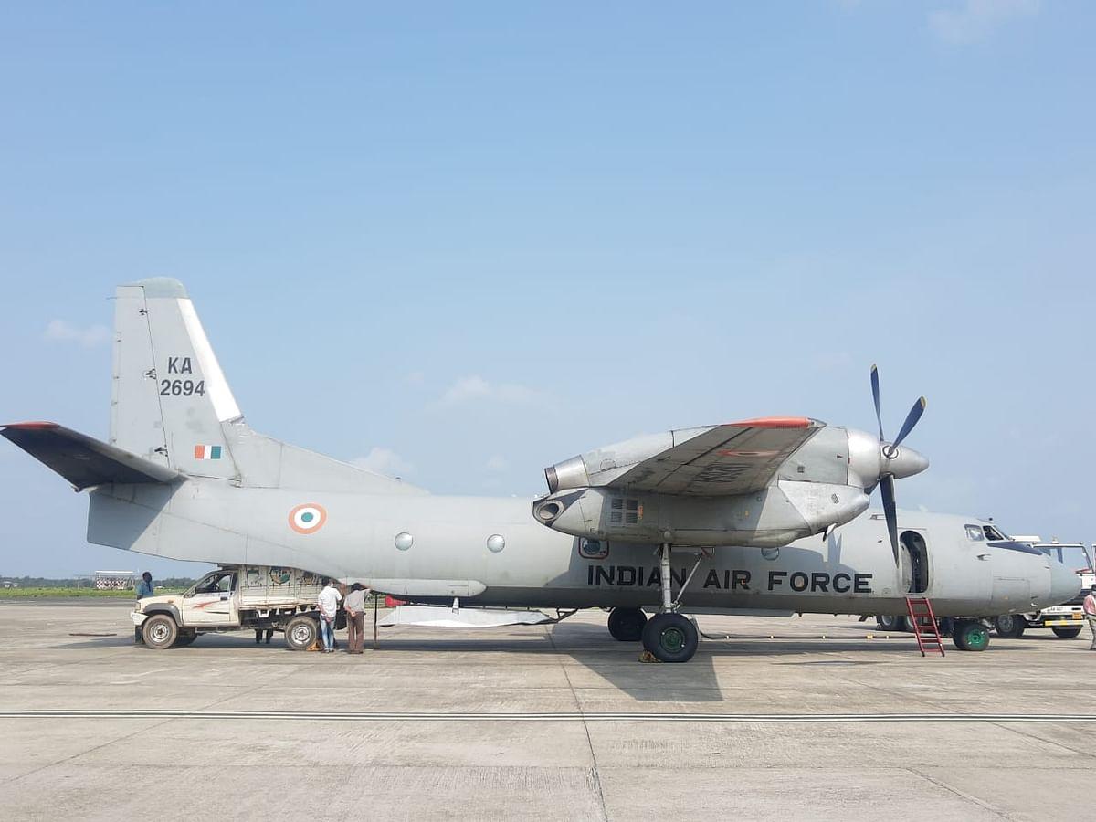वायु सेना और एएआई त्रिपुरा को कोरोना चिकित्सा आपूर्ति देने में दिनरात जुटे