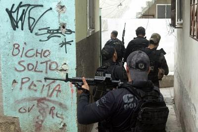 रियो पुलिस के ऑपरेशन में 25 की मौत (लीड)
