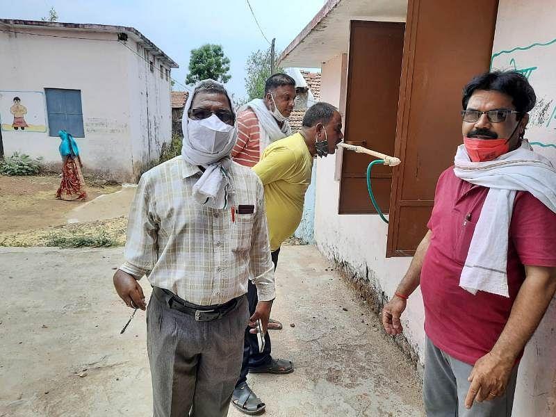 गांवों में बनाए 113 भाप केंद्र, जिला पंचायत कार्यालय में भी हुआ नवाचार