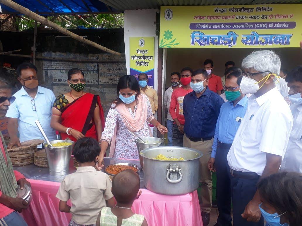 गरीबों के लिए विधायक  ने अन्नपूर्णा भोजनालय किया शुरू