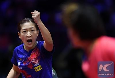 ओलंपिक के लिए अनुभवी चीनी टेबल टेनिस टीम का ऐलान