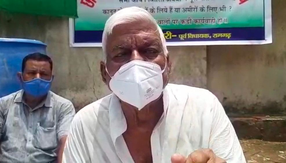 गरीबों का खून चूस रहा है छावनी परिषद का कानून : शंकर चौधरी