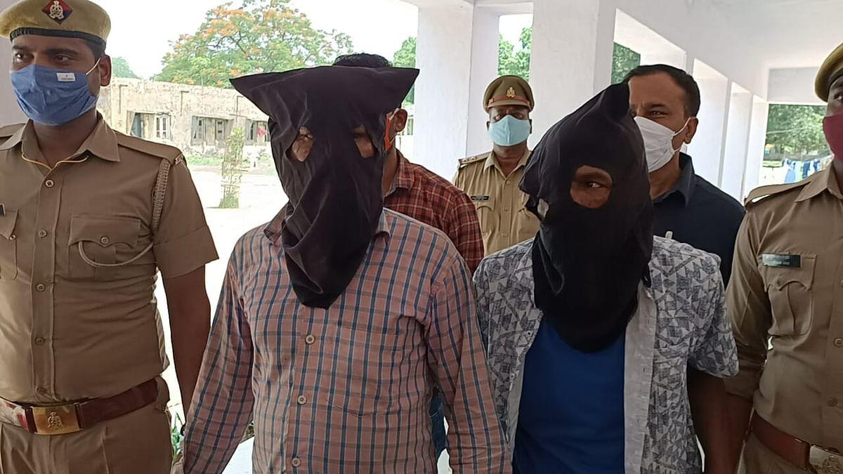 बालिका की हत्या में दो अभियुक्त गिरफ्तार, जेवर बरामद