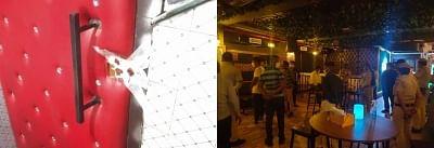 कोविड मानदंडों का उल्लंघन:दिल्ली के बार और रेस्तरां पर पुलिस ने मारा छापा