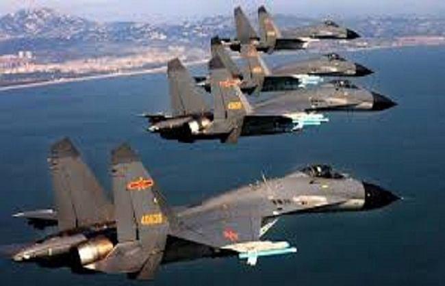ताइवान के एयरस्पेस में घुसे चीन के 28 लड़ाकू विमान