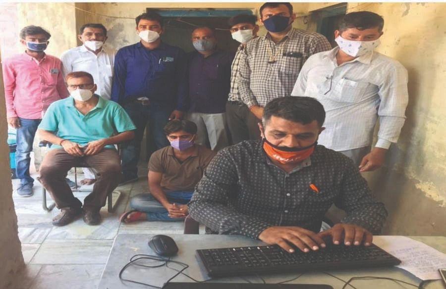 कनिष्ठ सहायक को ढाई हजार रुपए की रिश्वत लेते गिरफ्तार