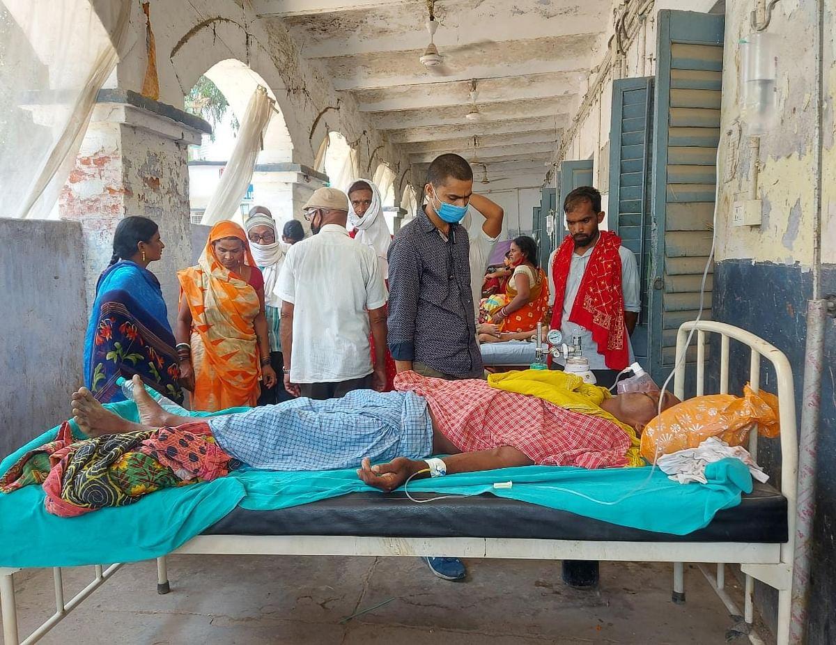 भूमि विवाद में तदतड़ाई गोलियां, दो भाई जख्मी