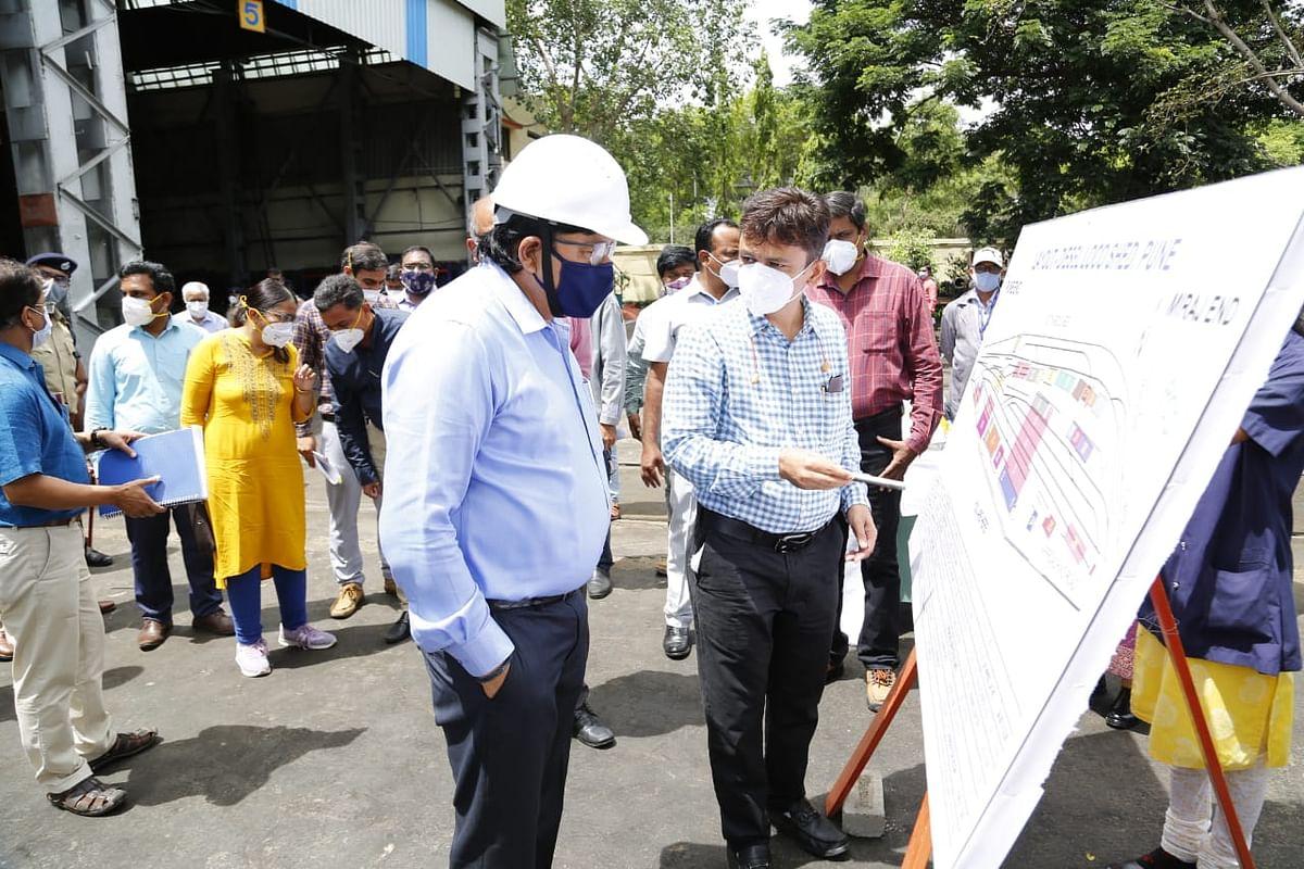 मध्य रेल : महाप्रबंधक ने किया लोनावला-पुणे-लोनावला खंड का निरीक्षण