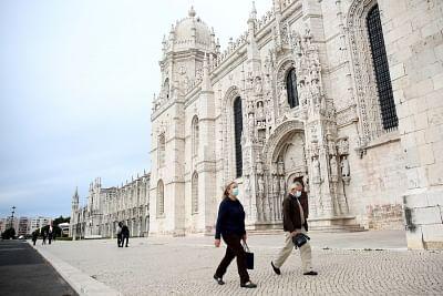पुर्तगाली राजधानी के निवासियों को क्षेत्र छोड़ने की अनुमति नहीं