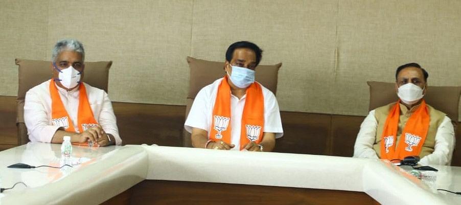 गुजरात : प्रदेश भाजपा ने शुरू की 2022 के विधानसभा चुनाव की तैयारी