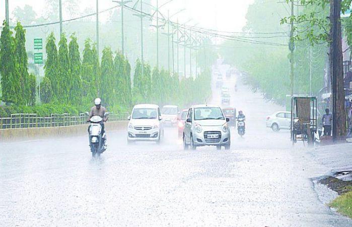 रायपुर : छत्तीसगढ़ में अब तक 162.8 मिमी औसत वर्षा दर्ज