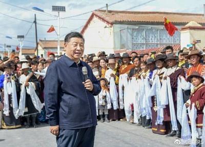 हम परिवार हैं और भाई-बहन भी, हमारा भविष्य और उज्जवल होगा : शी चिनफिंग