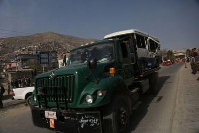 काबुल में मिनीबस में बम ब्लास्ट, 4 की मौत