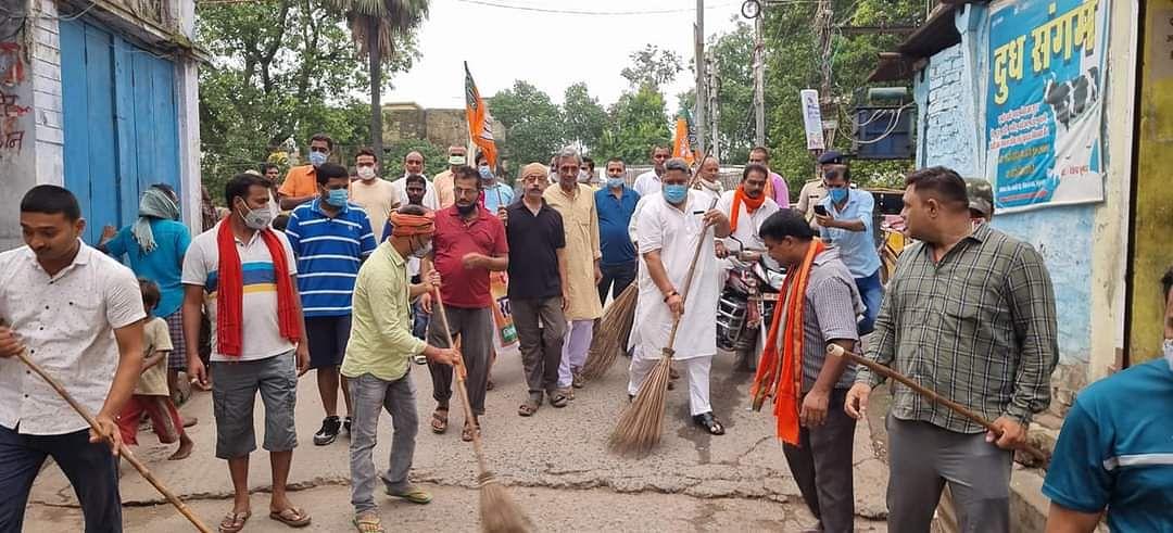 नरेन्द्र मोदी के नेतृत्व में स्वच्छता की नई ऊंचाई पर जा रहा है भारत :कुंदन कुमार