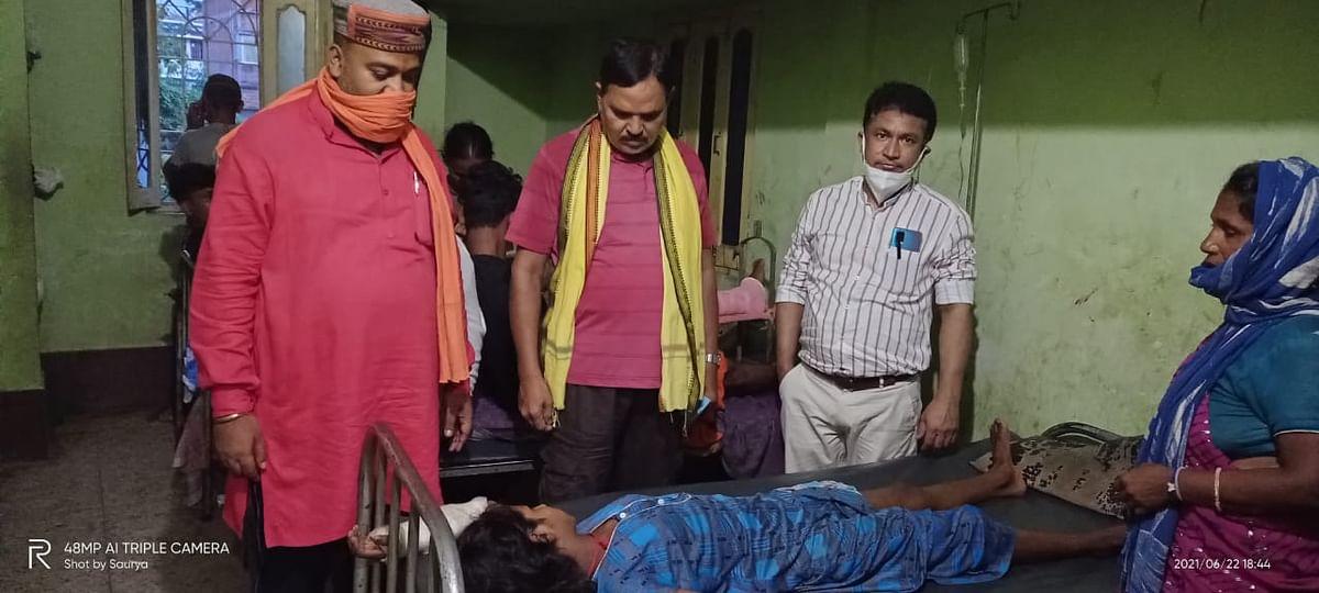 डॉ विवेक ने गरीब लड़की के कूल्हे का मुफ्त किया ऑपरेशन