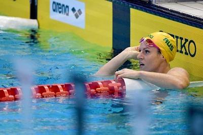 तैराकी : ऑस्ट्रेलिया की मैकओन ने 100 मीटर बैकस्ट्रोक का विश्व रिकॉर्ड तोड़ा