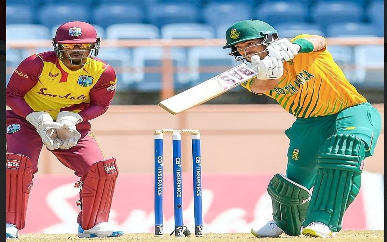 दक्षिण अफ्रीका ने तीसरे टी-20 में वेस्टइंडीज को 1 रन से हराया, पांच मैचों की श्रृंखला में ली 2-1 की बढ़त