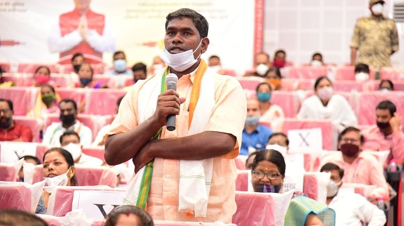कोंडागांव : मुख्यमंत्री ने नरवा कार्यक्रम के सफल हितग्राही जोहार नेताम का बढ़ाया हौसला