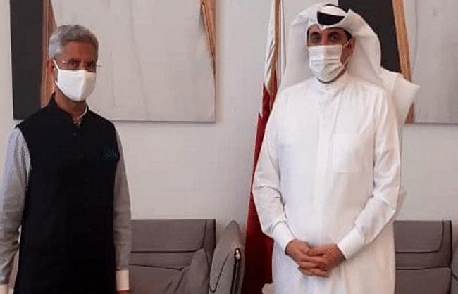 विदेश मंत्री जयशंकर कतर के एनएसए से मिले, खाड़ी देशों से मांगा कोरोना की लड़ाई में सहयोग