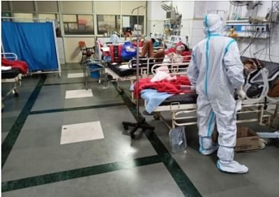 लोक नायक अस्पताल के कोविड आईसीयू में लगाए गए 100 एआई-पॉवर्ड डोजी पेशेंट मॉनिटर्स