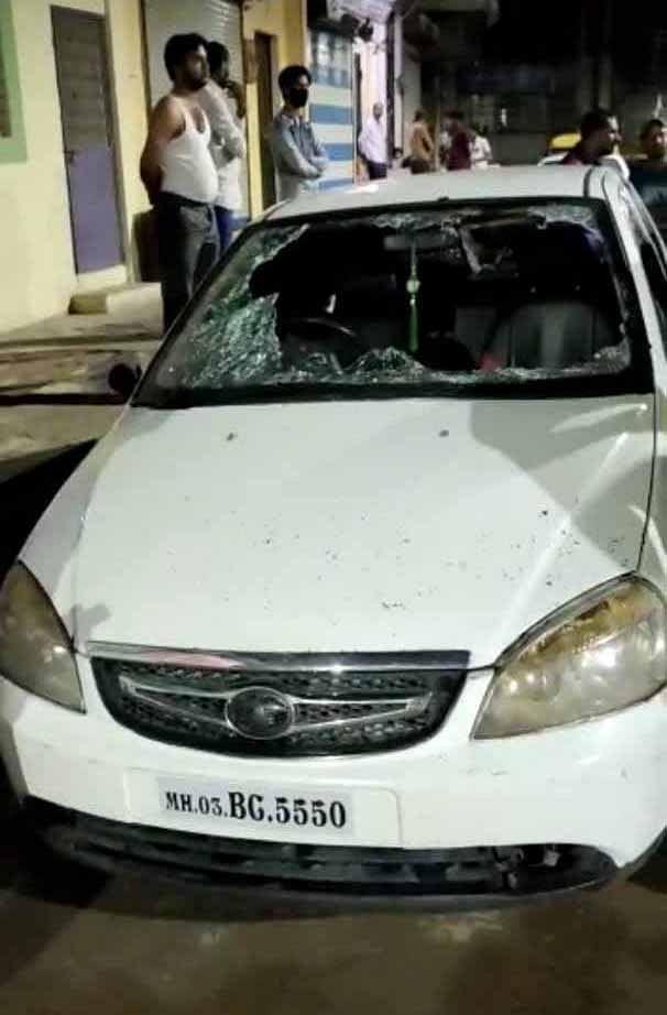 गांधी नगर में डेढ़ दर्जन से अधिक बदमाशों ने मचाया हंगामा