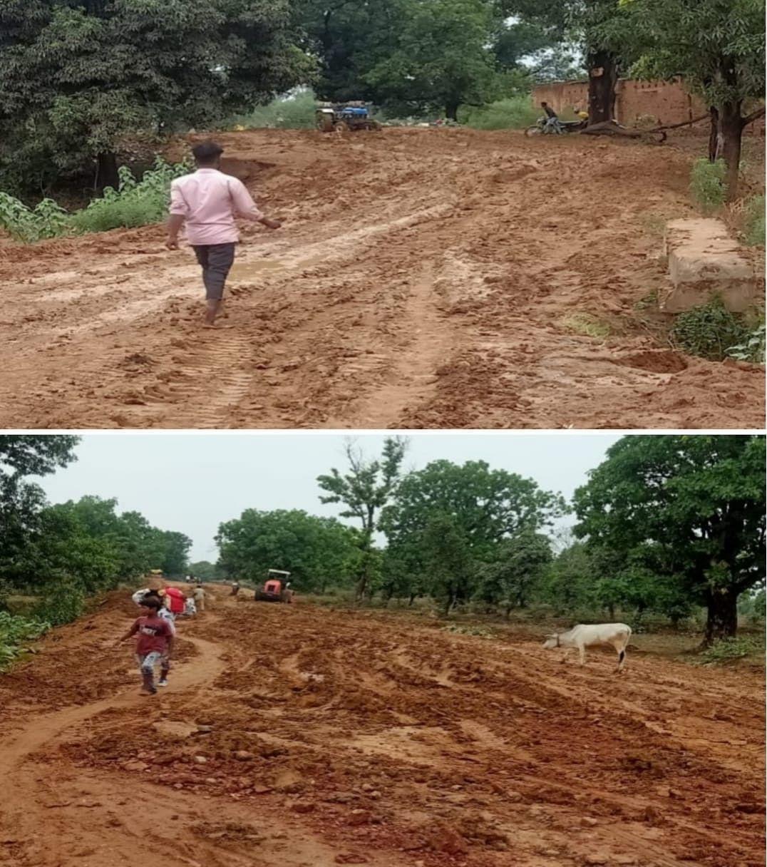 कोरबा : बारिश से पाली- पोड़ी होते हुए सिल्ली तक निर्माणाधीन सड़कमार्ग हुआ कीचड़ से सराबोर, पैदल चलना भी हुआ दूभर, सड़क की हालत पर जमकर नाराज हुए क्षेत्रीय विधायक केरकेट्टा