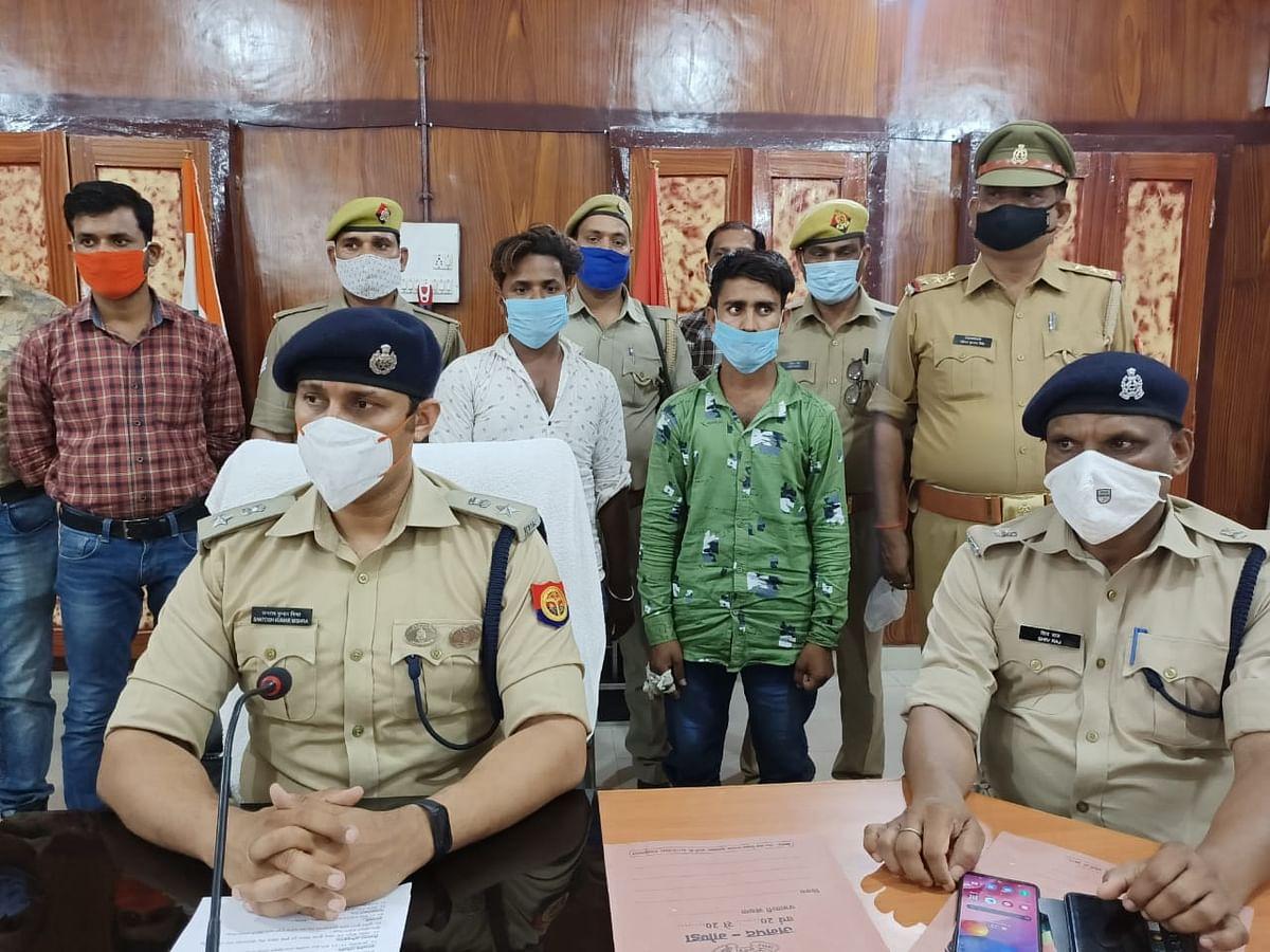 अधेड़ की हत्या में दो अभियुक्त गिरफ्तार