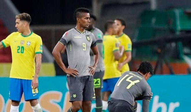 ब्राजील ने विश्व कप फुटबॉल क्वालीफायर में लगातार पांचवीं जीत दर्ज की