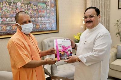 मुख्यमंत्री योगी ने पीएम के बाद की भाजपा प्रमुख नड्डा से मुलाकात