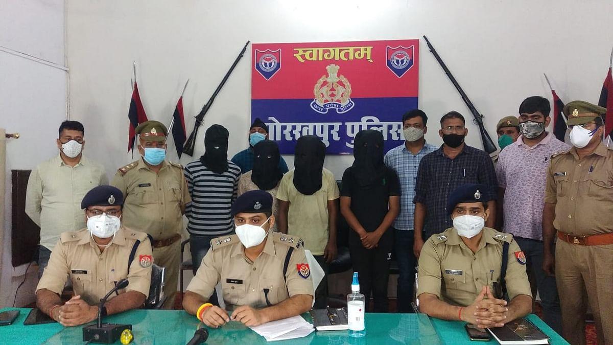 पैथालॉजी से निष्कासित कर्मचारी ने रची लूट की साजिश, चार गिरफ्तार