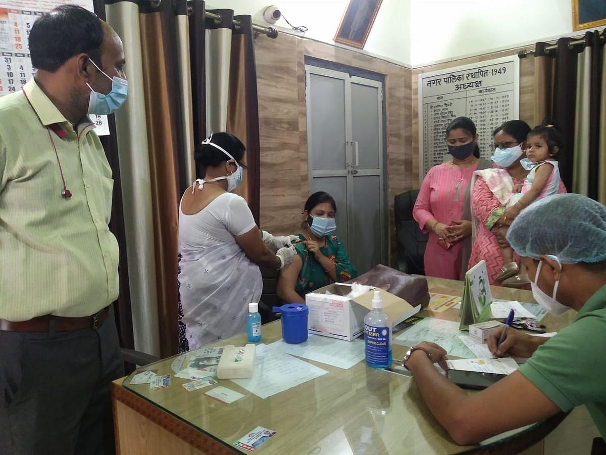 फतेहपुर: महिला स्पेशल कोविड टीकाकरण का शुभारंभ