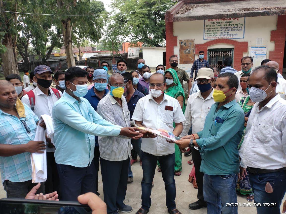 ग्रामीण चिकित्सकों के एक दिवसीय प्रशिक्षण शिविर आयोजित