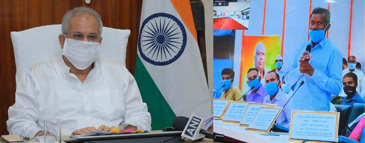 रायपुर : वन अधिकार पत्र से ग्रामीणों को मिला आजीविका का साधन : मुख्यमंत्री ने दिए खेती-किसानी के टिप्स