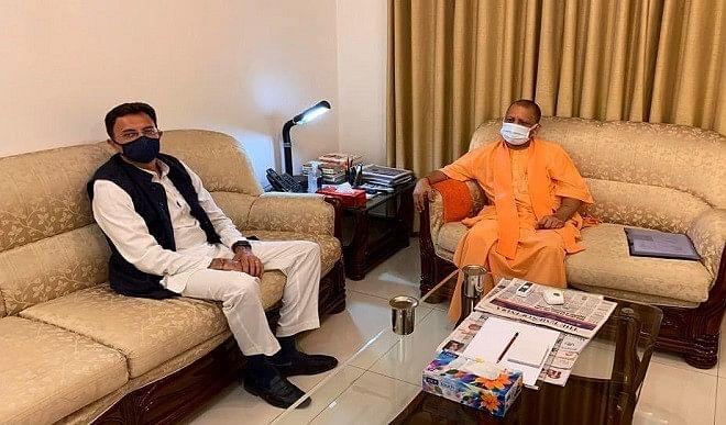ब्राह्मण वोटों को साधने की कोशिश, योगी सरकार में मंत्री बन सकते हैं जितिन प्रसाद !