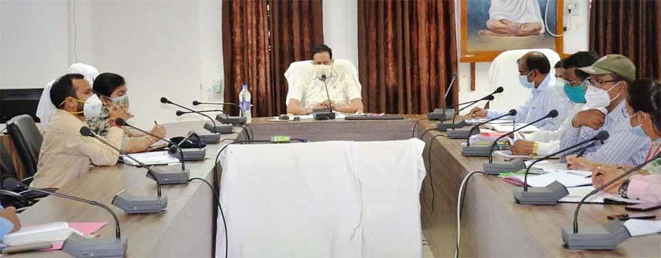 नारायणपुर : कलेक्टर की अध्यक्षता में जिलास्तरीय टास्क फोर्स समिति की बैठक आयोजित