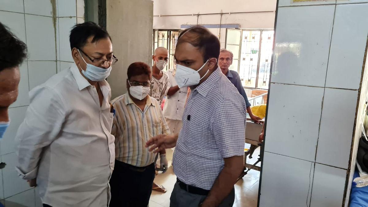 bhojpur-dm-roshan-kushwaha-inspected-sadar-hospital
